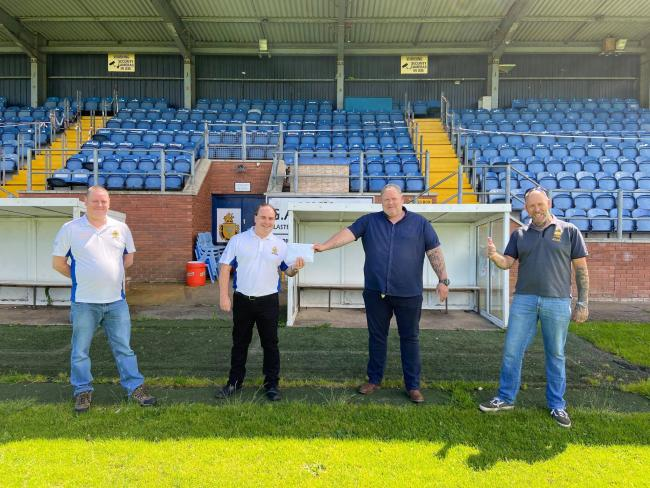 Fans support RL club with vital charity funds