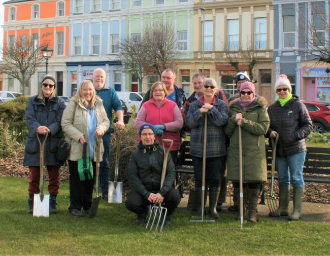 Group starts: Friends of Silloth Green are meeting again weekly