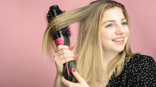 News and Star: This Revlon hair dryer brush is better than any hair dryer I've ever used. Credit: Reviewed / Betsey Goldwasser