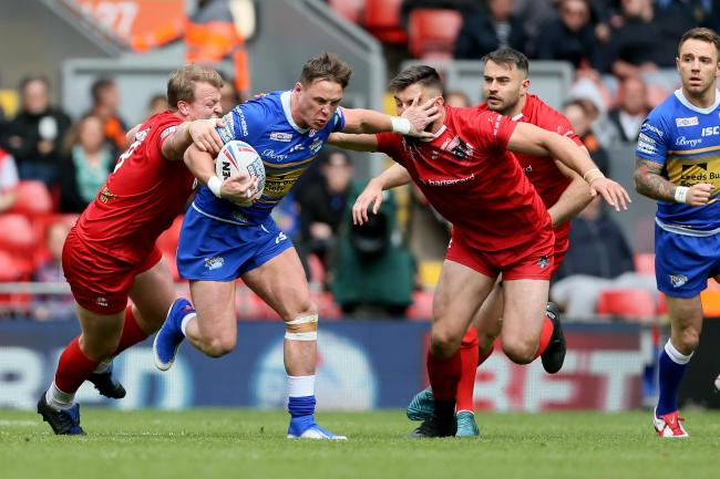 OUT: Leeds Rhinos' James Donaldson