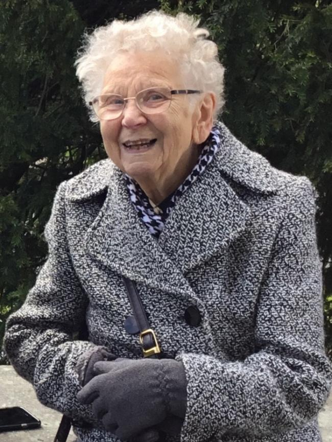 Fatal: June Godwin, 87, died in Penrith Hospital on January 22, 2019, following a crash on December 18