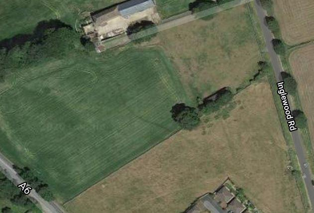 PLANS: The site of a proposed 76-home estate at Penrith
