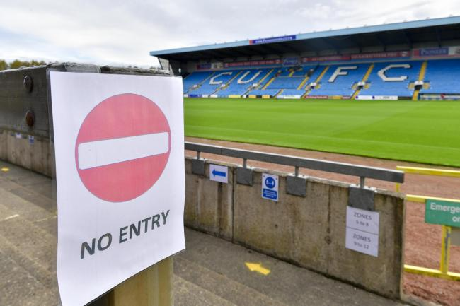 United are facing up to a possible six-month period without fans in their ground (photo: Stuart Walker)