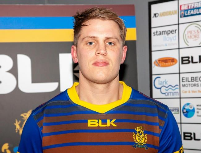 BACK: Brett Phillips has re-signed for Whitehaven as part of their 2021 Betfred Championship squad