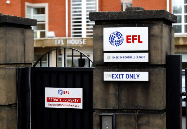 EFL: No bail-out agreement.