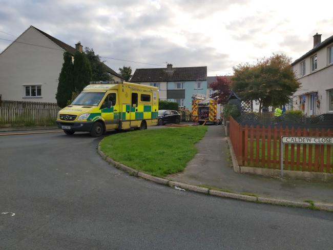 A man has died in a house fire at Wigton  Photo by Sam Smedley