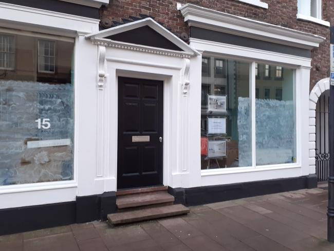New shop: The showroom on Castle Street will open shortly