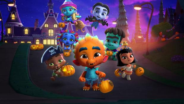 News and Star: A sweet movie that debunks the creepy mysteries of Halloween for the littlest movie-watchers. Credit: Arad Animation