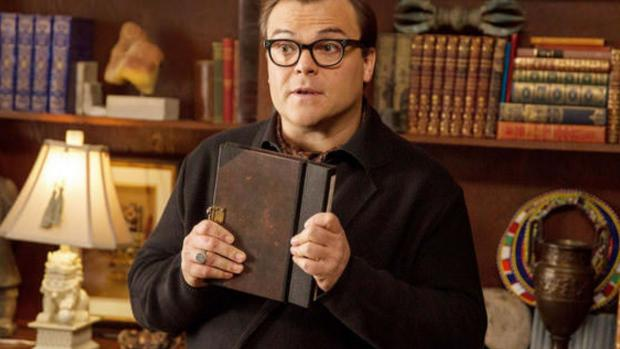 News and Star: Jack Black plays R.L. Stine in this imagining of what would happen if all of the Goosebumps books came alive at once! Credit: Columbia Pictures