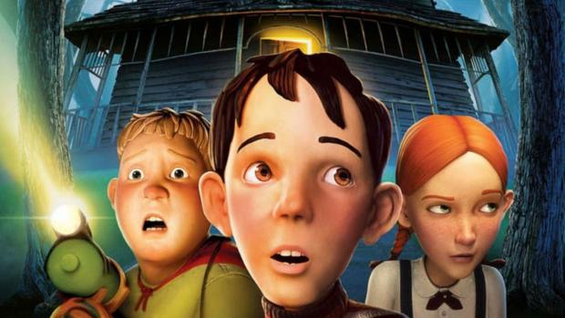 News and Star: Three kids must destroy a house, at first just seems creepy, but it's actually alive! Credit: Columbia Pictures