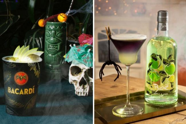 9 wicked wines and crafty cocktails for a howling Halloween at home. Pictures: PA Wire