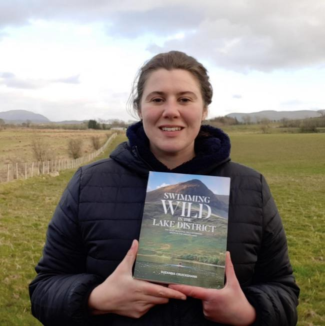 Delighted: Suzanna Cruickshank was pleased to be nominated for her book about wild swimming