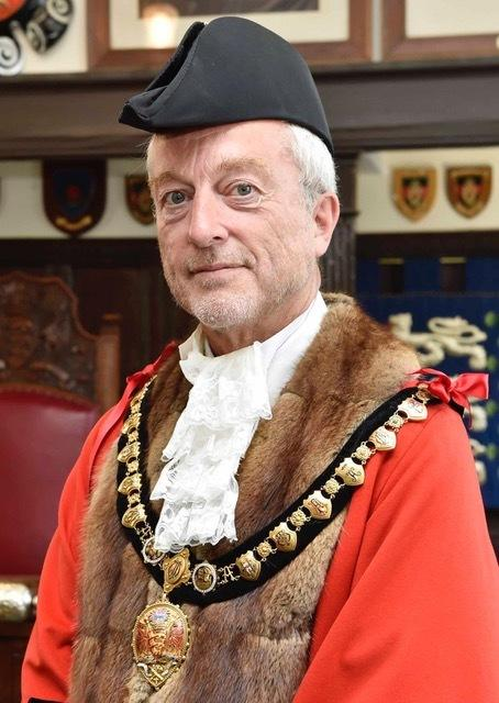SWITCH on: Mayor of Appleby Gareth Hayes  Picture: Appleby Town Council