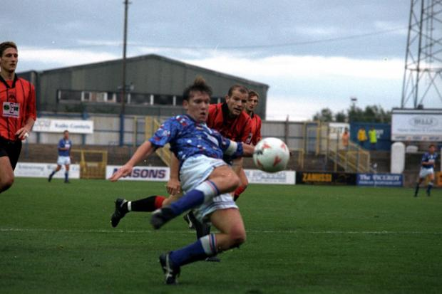 News and Star: Simon Davey: 13 goals in 1993/4 campaign