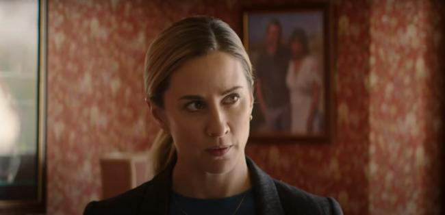 THE BAY: Morven Christie as Detective Sergeant Lisa Armstrong (ITV, 9pm Wednesday)