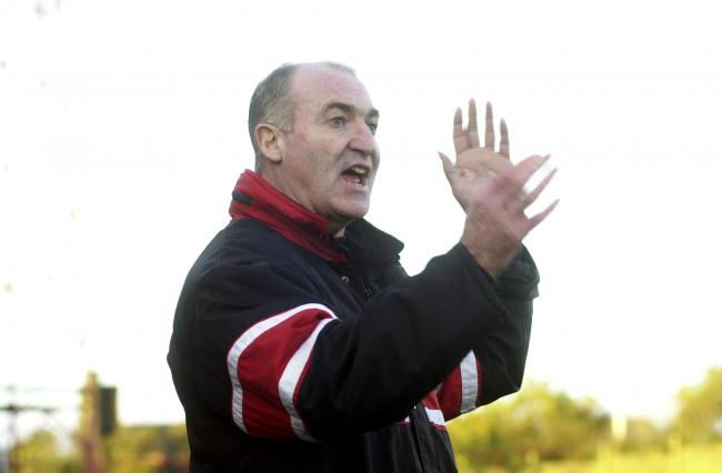 Tommy Cassidy pictured during his time as Workington Reds boss