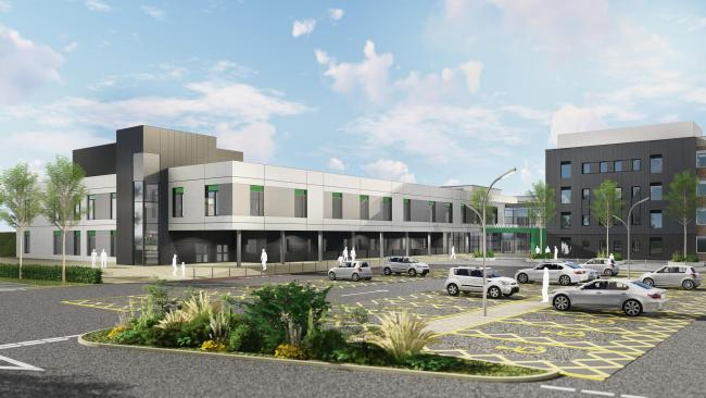 Approved: Artist impression of the new West Cumberland Hospital as phase two gets the green light