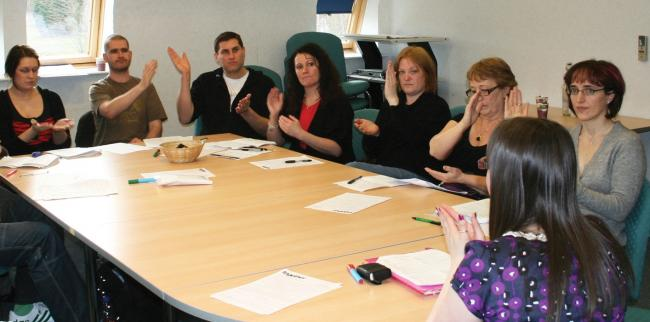 SIGN language: Signs4Life has launched a programme