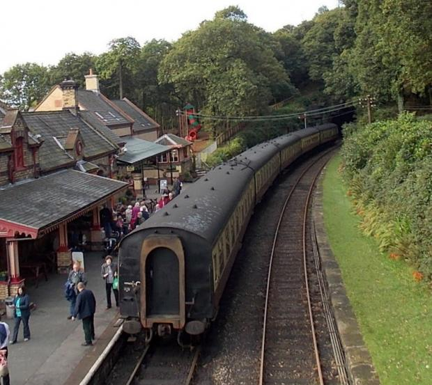 News and Star: The Lakeside and Haverthwaite Railway