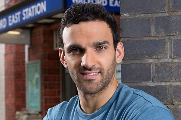 EastEnders: Davood Ghadami as Kush Kazemi. Picture: BBC