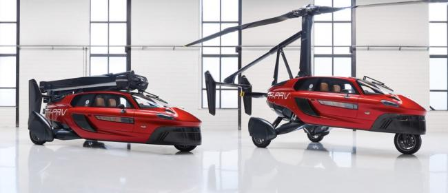 The PAL-V Flying Car, which will be at Kirkbride Airfield on April 13