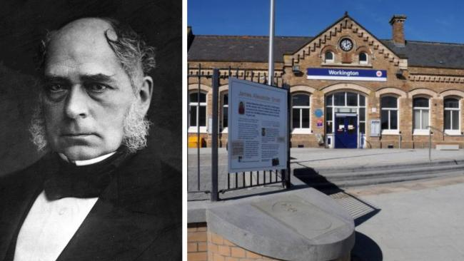 A tribute to a true great of Workington's past is planned for Workington Train Station