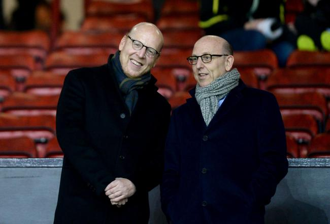 Manchester United's Joel and Avram Glazer were involved in the controversial Super League plan (photo: PA)