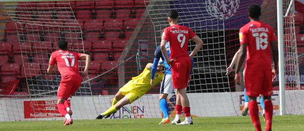 News and Star: United's Norman saves Kemp's penalty