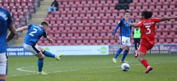 News and Star: Tanner hits the late Carlisle winner