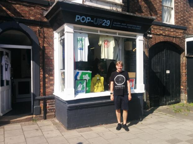 News and Star: Mark Told Pop-Up 29 to Stanwix, Carlisle Gave Him the Perfect Opportunity to Showcase His Business