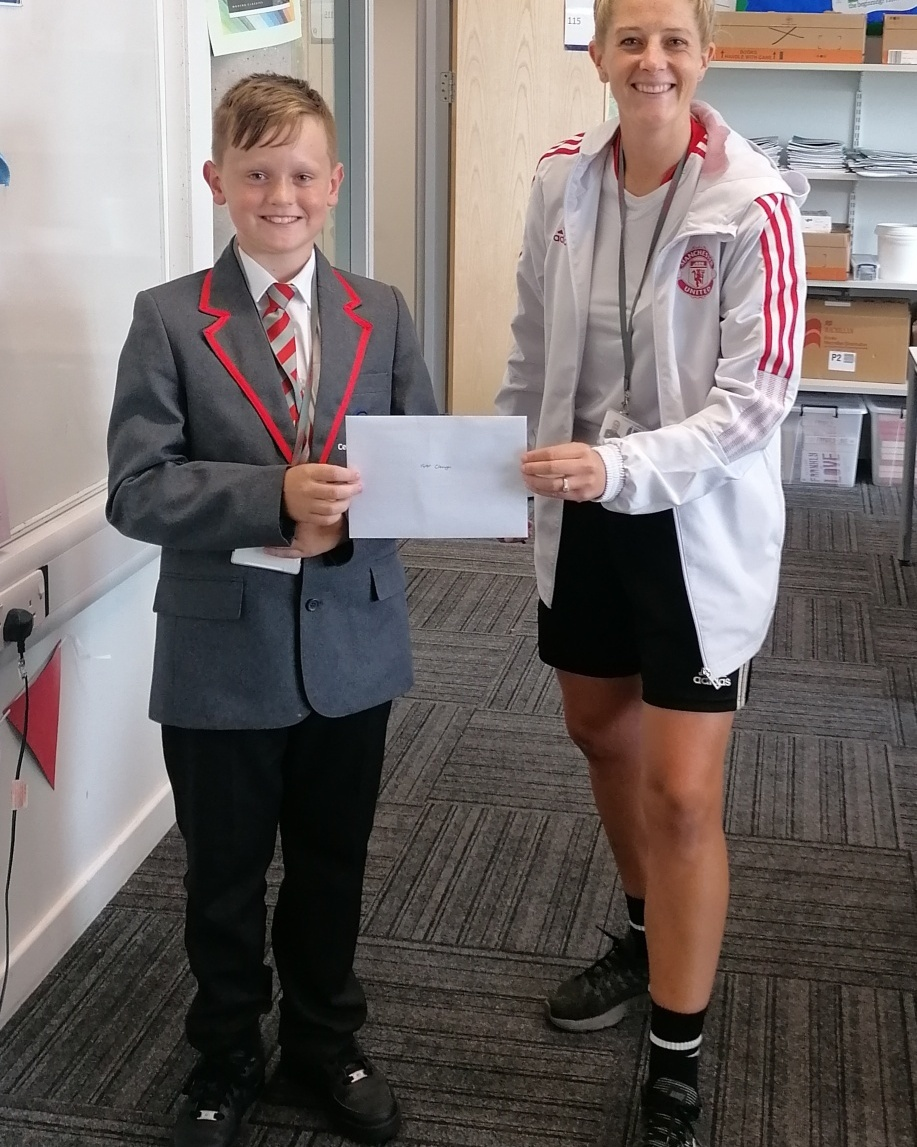 Carlisle pupil wins Manchester United tickets   News and Star - News & Star
