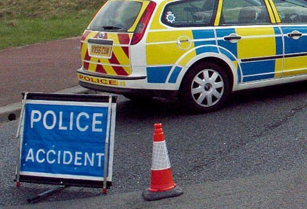 Road closed following accident on A66