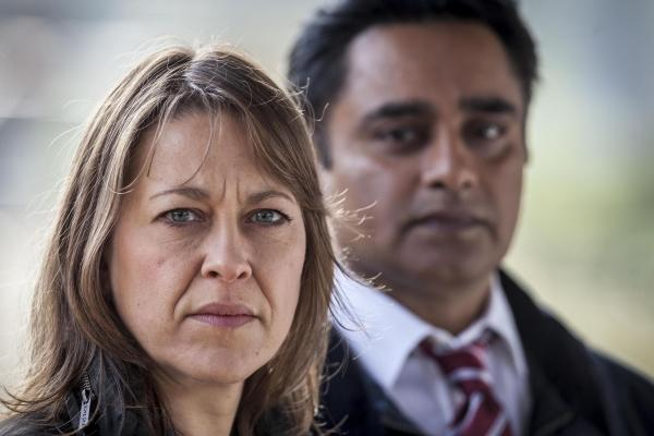 News and Star: Nicola Walker and Sanjeev Bhaskar in Unforgotten