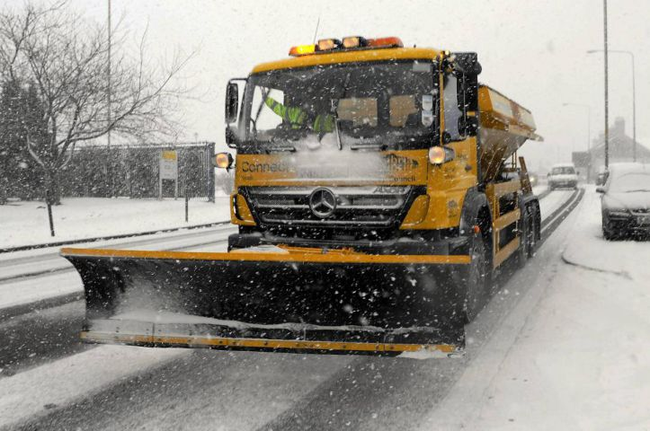A gritter in action (file photo)