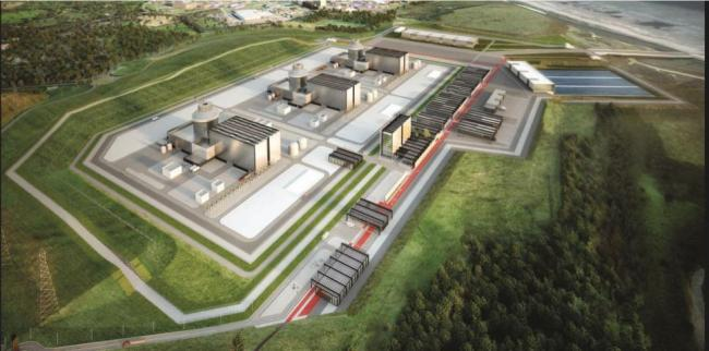 How the Moorside nuclear power plant will look