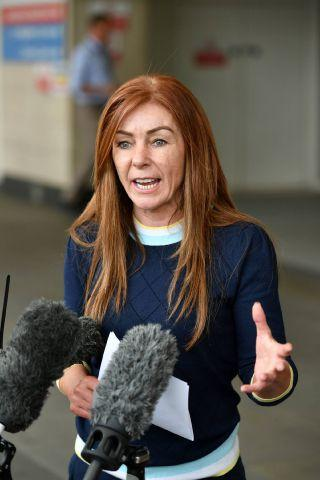 Charlotte Caldwell, mother of 12-year-old Billy Caldwell