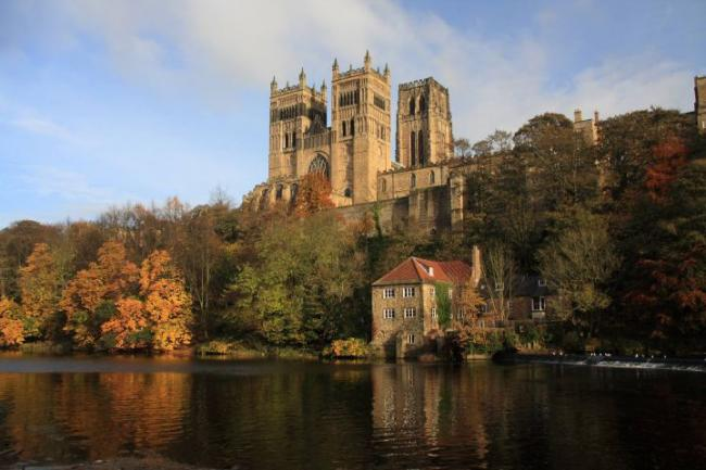 Durham's unique cathedral. But the city shares a  sad characteristic of other towns.