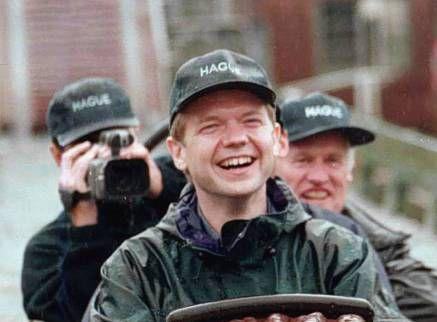William Hague was laughed at for wearing a baseball cap