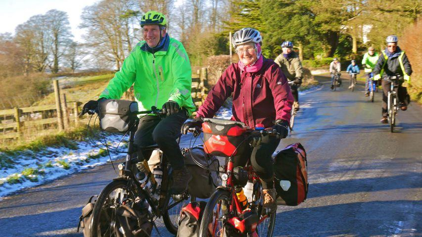 d139a821f1a Cumbrian cycling duo set of for ambitious trip to Great Wall of China