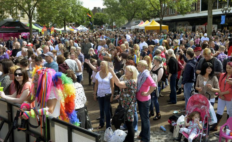 Thousands joined in with last year's Cumbria Pride celebrations