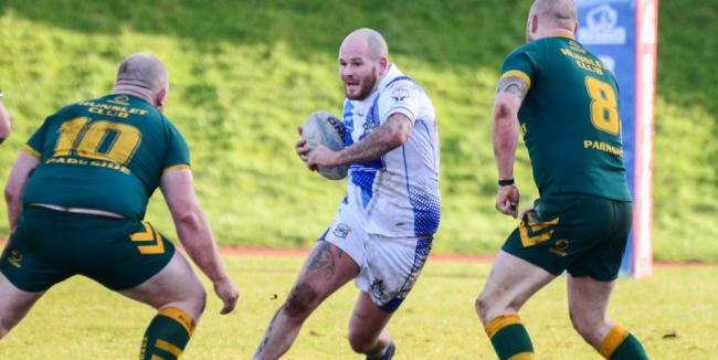 late check: On Workington Town's Stevie Scholey