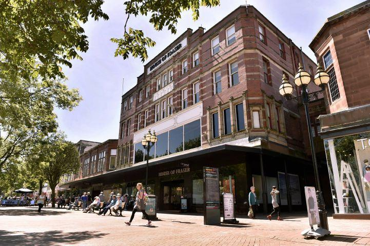 House of Fraser in Carlisle set to close next year | News and Star on hugo house, limen house, perry house, fountain house, luther house, united states house,