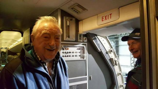 Bob Harvey, of Longtown, visited Scotland's National Museum of Flight.