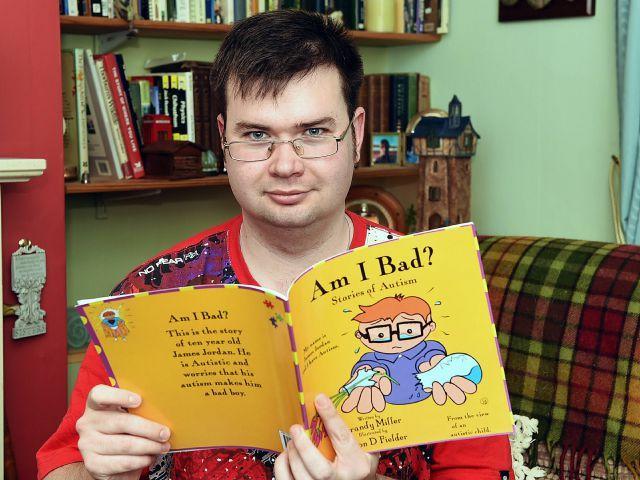 Artist With Autism Illustrates >> Workington Artist Illustrates New Book On Autism News And Star