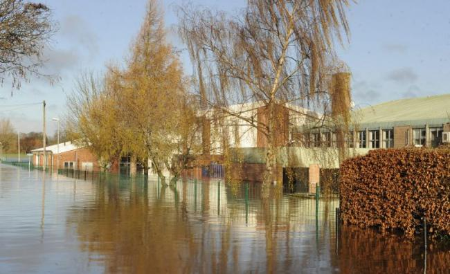 Flood-hit Newman School, Carlisle