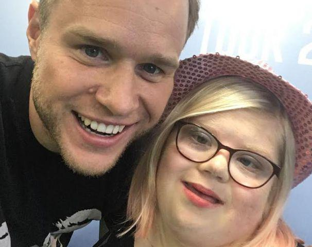 Olly murs meeting was dream come true for cumbrian transplant girl katy taylor hamilton with her hero olly murs m4hsunfo