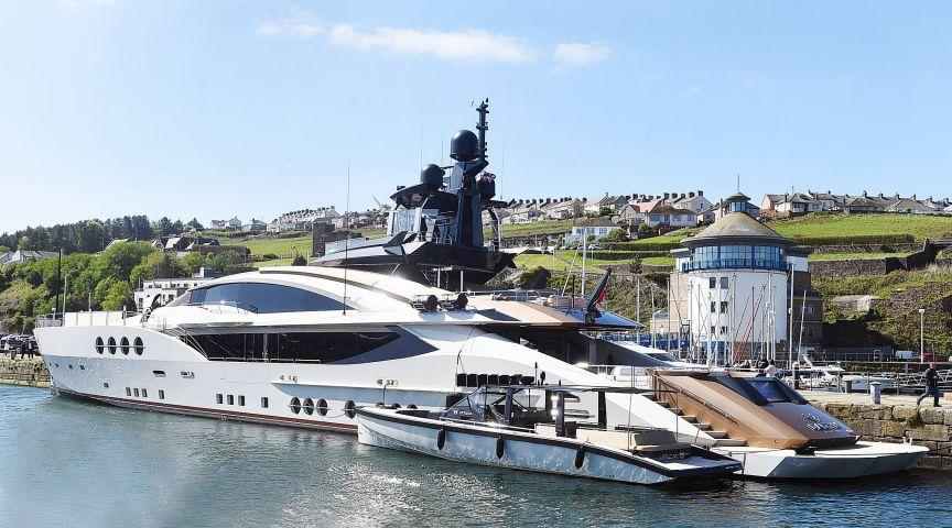Russian Billionaire S 40 Million Yacht In Whitehaven News And Star