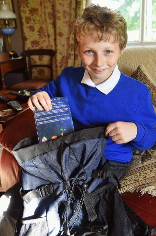 Teddy Cooper, 10, from Welton
