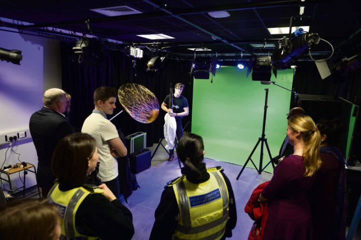 Filming facilities prepare students for work
