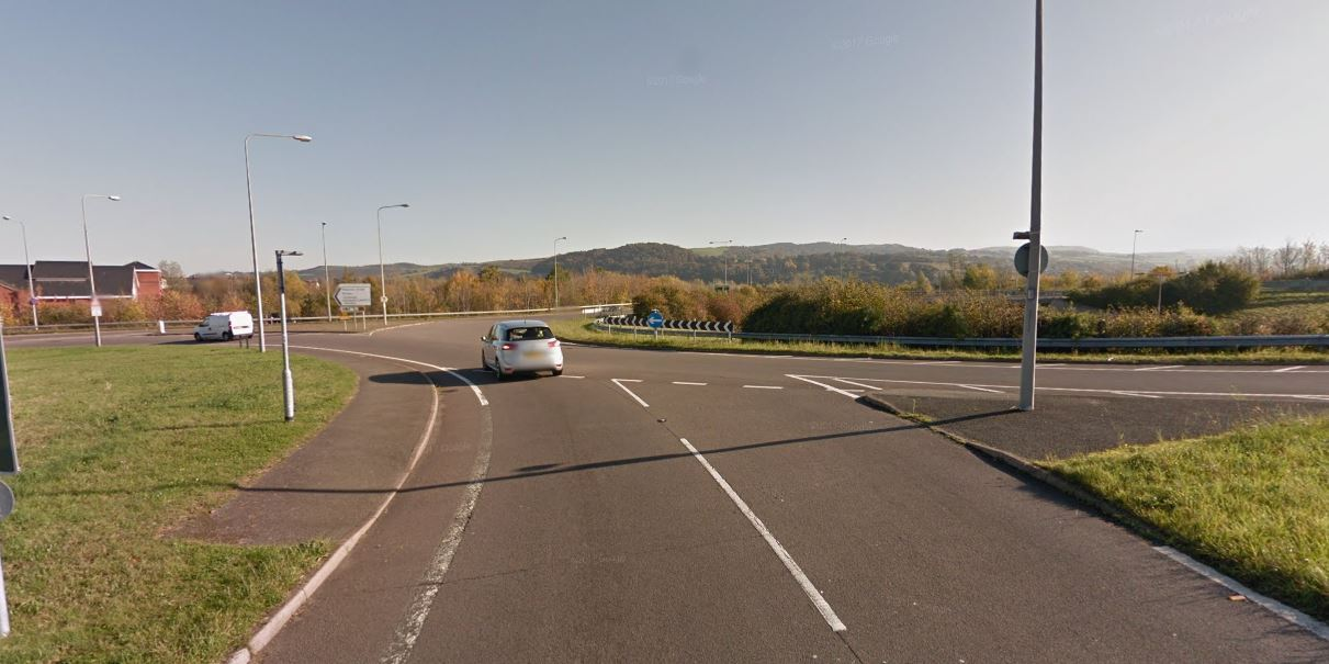 Junction 18 was closed for the accident. Picture: Google maps